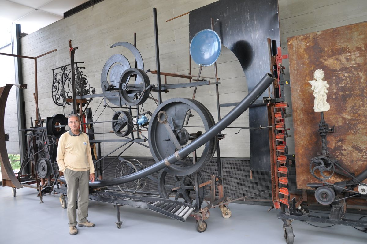Jean Tinguely: Maschine